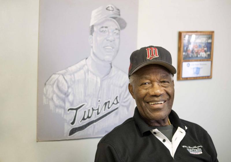 "Pitcher James ""Mudcat"" Grant pictured in Los Angeles, CA."